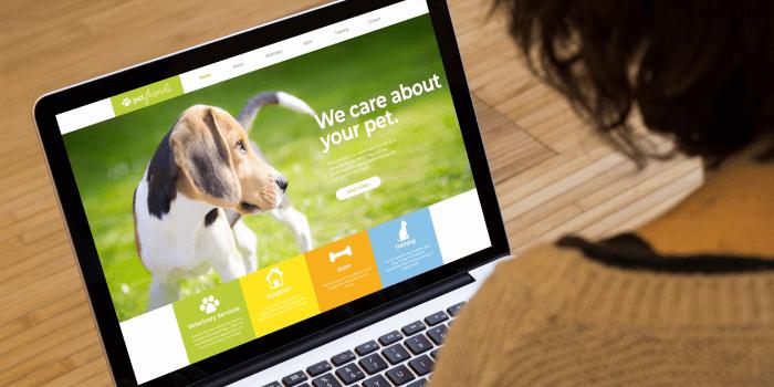 pet retail website