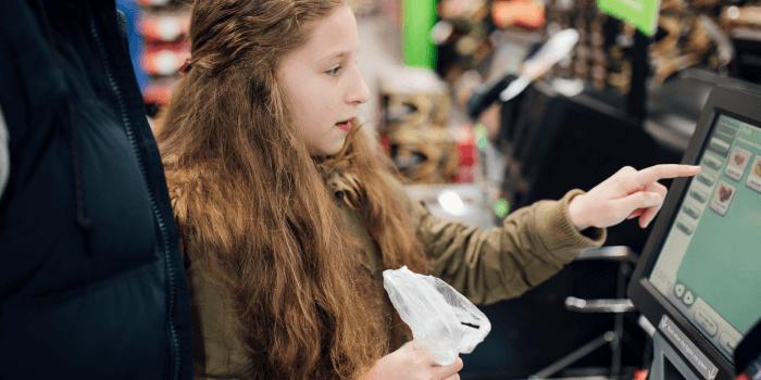 grocery retail digital checkout