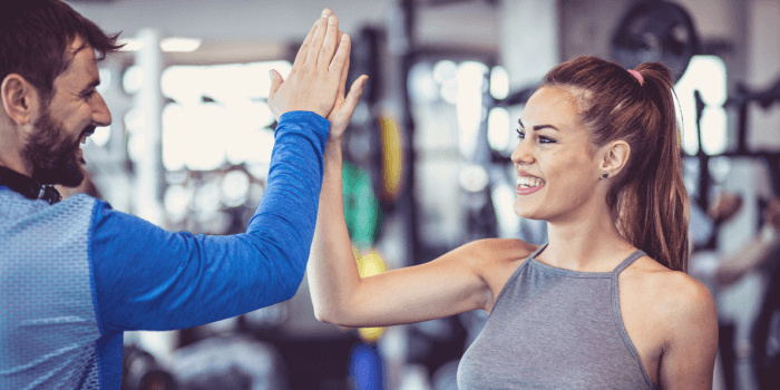 gain referrals for gym or fitness center